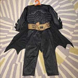 Batman Halloween costume will fit 7 or 8 year old